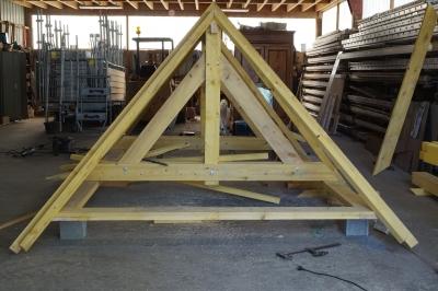 Création charpente bois