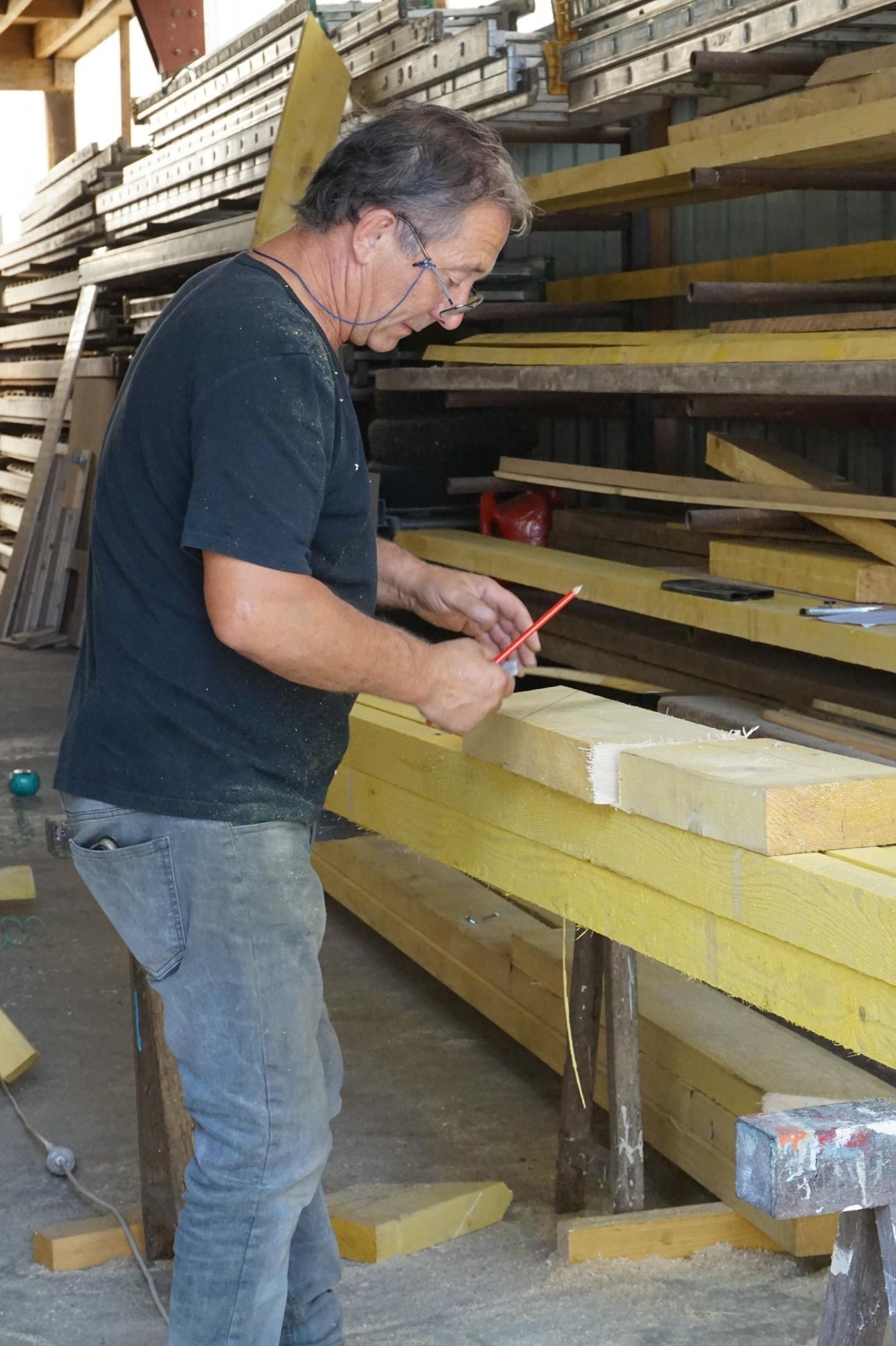 charpentier atelier