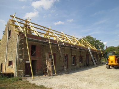 Rénovation charpente travaux